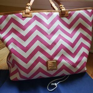 Dooney & Bourke New Condition pretty in Pink bag ,